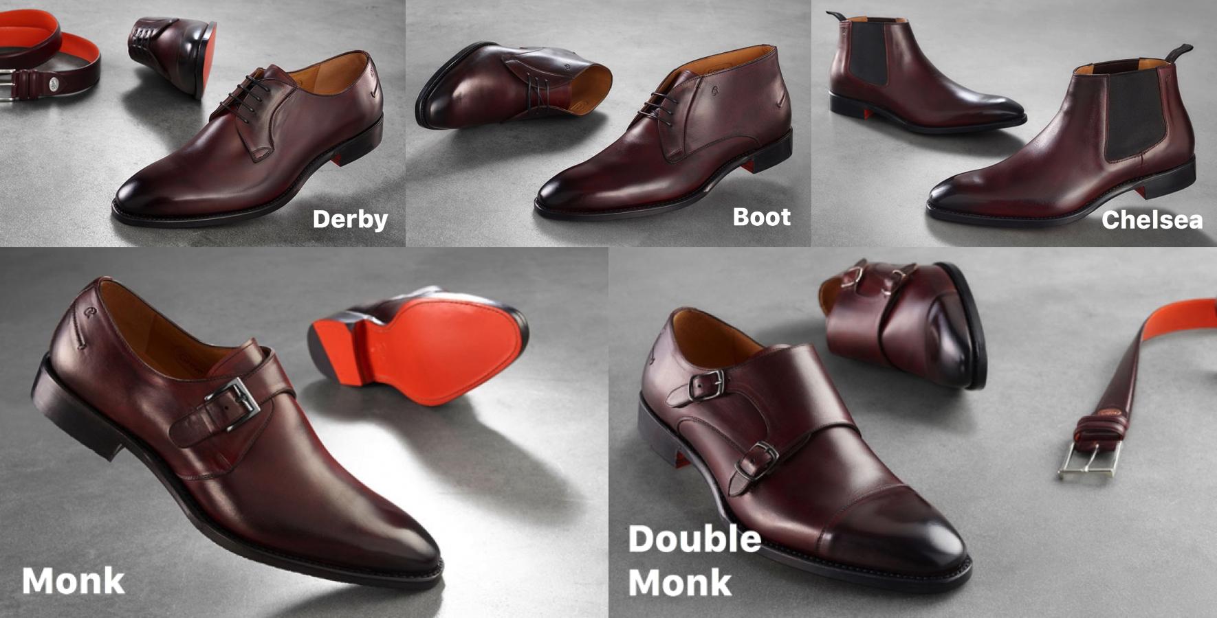 Greve Barolo modellen monk double mond chelsea boot derby