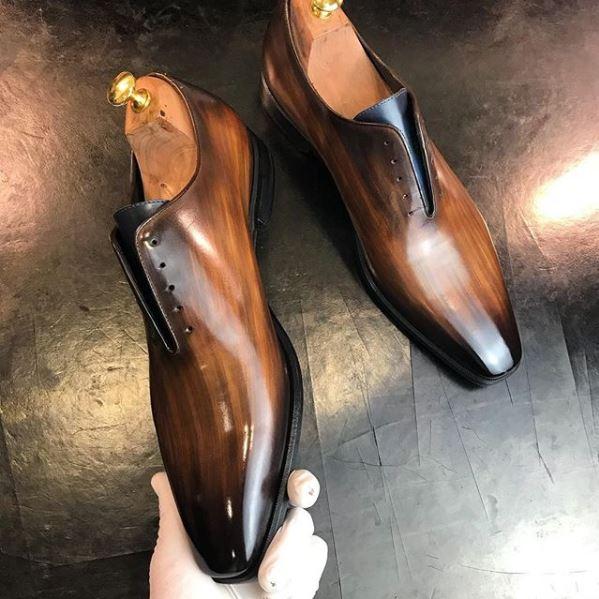 schoenen verven tutorial